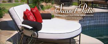 contact sunset patio custom designed patio furniture