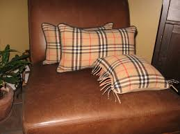 our crafty home burberry accent pillows