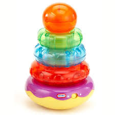 baby toys with lights and sound little tikes light n sounds stacker orange green at little tikes