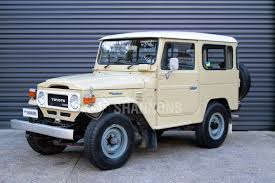 military land cruiser sold toyota land cruiser bj 42 diesel swb auctions lot 2