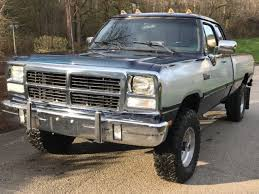 1992 dodge ram 250 diesel dodge ram w 250 cab le bed 4x4 diesel for sale