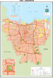 Map Of Jakarta Jakarta Map High Resolution