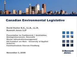 fh frankfurt architektur canadian environmental legislative david b a ll b ll m