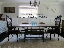 Vintage Drafting Table Vintage Drafting Table Turned Dining Table Dream Book Design