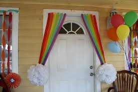 Rainbow Centerpiece Ideas by Rainbow Decorations For U0027s Birthday Party Dtmba Bedroom Design