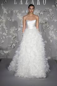 feather wedding dress feather bottom wedding dress luxury brides