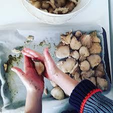 jeux de recette de cuisine les pleurotes au four une recette simple comme un jeu d enfant en