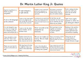 printable history quotes luther king quotes