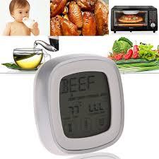 humidité cuisine numérique écran lcd température alimentaire sonde four