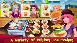 telecharger des jeux de cuisine télécharger jeux de cuisine chef restaurant burger fièvre apk mod