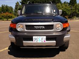 toyota fj used 2007 toyota fj cruiser sport trd for sale in eugene oregon