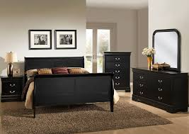 lifestyle furniture home store louis black queen sleigh bed w