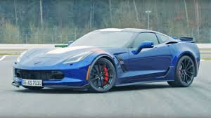 vintage corvette blue chevy corvette grand sport is almost as fast as a porsche 911 gt3