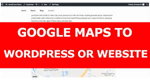Google Map Customizer How To Add Or Embed Google Maps To Wordpress Or A Website Youtube