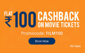 paytm loot get flat rs 100 cashback on booking 2 movie tickets