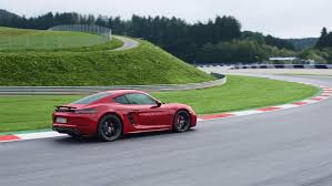 porsche cayman green more power and performance for new porsche 718 boxster gts and