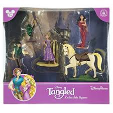 tangled cake topper disney park tangled rapunzel figurine playset play set