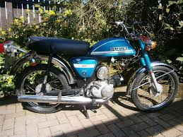suzuki a50 classic motorcycle the very rare and much sort