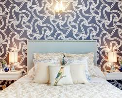 Paris Wallpaper For Bedroom by Navy Blue Wallpaper Houzz