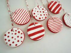 cornstarch clay ornaments pinteres