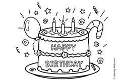 birthday coloring sheets happy birthday coloring pages with balloons for kids coloring
