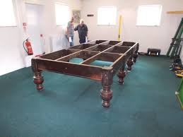 full size snooker table dismantle transport and set up of full size snooker table set up