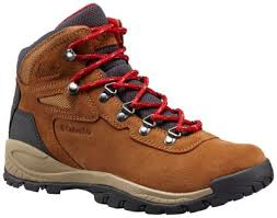 womens boots hiking columbia s newton ridge plus waterproof amped leather mid
