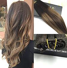 micro weft extensions eze weft extensions 12 with 50gram brown lowlight micro