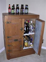 diy liquor cabinet ideas image result for liquor cabinet free standing icebox bars