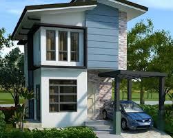 narrow home designs modern small home design modern small house modern small house