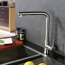 kitchen faucet brass crea kitchen faucet modern brass single lever pull sprayer