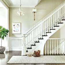Staircase Wall Decorating Ideas Staircase Decorating Stairway With Decorated Garland On Banister