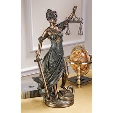 amazon com design toscano goddess of justice themis large statue