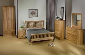 Oak Bedroom Furniture Natural Color Of Bright Brown DalcoWorldcom - Edinburgh bedroom furniture