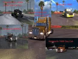 2016 kenworth t600 catalog y american truck simulator mods ats mods