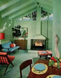 Interior Home Decorator by 387 Best 50s Interiors Images On Pinterest Midcentury Modern