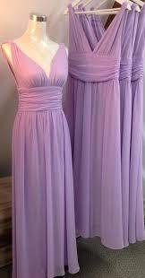 lilac dresses for weddings lilac chiffon bridesmaid dresses for wedding 2018 v neck