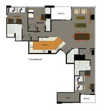 Loft Style Floor Plans by University Lofts