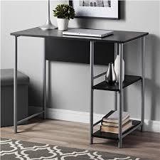 Mainstays Student Desk Instructions Ameriwood Furniture Garrett Metal Student Desk True Black Oak