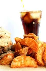 cuisine am ag en u seasoned baked potato wedges erren s kitchen