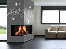kamin wandgestaltung wohnzimmer farben modern openbm info