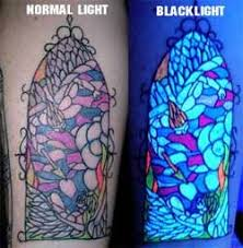 Black Light Tattoos Does Your Tramp Stamp Glow In The Dark Black Light Tattoos L A