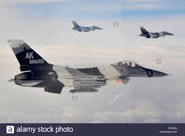 Flag Complex U S Air Force F 16 Aggressor Aircraft Fly Over The Joint Pacific