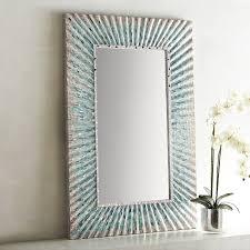 ariel blue mosaic 32x48 mirror pier 1 imports