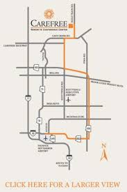 Phx Airport Map Directions Carefree Resort U0026 Conference Center Carefree Az