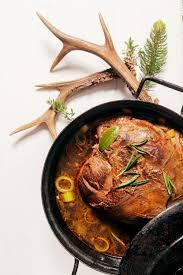 cuisiner le chamois recette cuissot de chamois rôti sauce grand veneur
