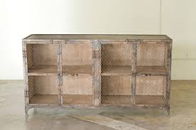 sideboard with mesh droors