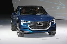 concept audi all electric audi e tron quattro concept boasts 310 miles of range