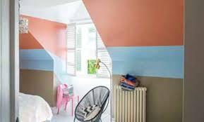 peinture chambre sous pente décoration peinture chambre sous pente 6968 peinture