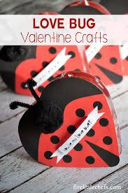 love bug valentine crafts five little chefs